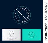 fashion boutique logo. clothes... | Shutterstock .eps vector #1796466868