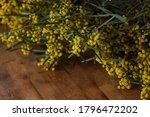 Bunch Of Yellow Wattle Blossom...