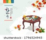 korean thanksgiving day....   Shutterstock .eps vector #1796524945