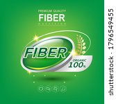 slim shape fiber in foods and... | Shutterstock .eps vector #1796549455