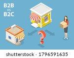 3d isometric flat vector... | Shutterstock .eps vector #1796591635