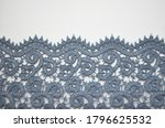 vintage jeans shade lace on... | Shutterstock . vector #1796625532