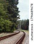 The Railroad Tracks In The...
