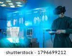 Doctors Wear Vr Goggle...