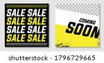 sale and coming soon template... | Shutterstock .eps vector #1796729665