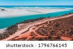 Small photo of Aerial image of Willie Creek pearl farm in Broome.