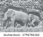 Bas Relief Rock Cut Sculptures...