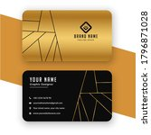 black and gold luxury vip... | Shutterstock . vector #1796871028