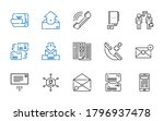 chat icons set. collection of...