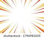 speed rays. action  speed lines ... | Shutterstock .eps vector #1796981035
