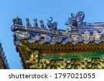 Richly Decorated Roofs Of A...