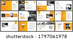 presentation and slide layout... | Shutterstock .eps vector #1797061978