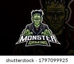 Frankenstein Sport Logo Design. ...