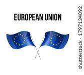 european union flag state... | Shutterstock .eps vector #1797134092