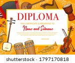 Education Diploma With Musical...