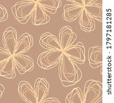 floral seamless pattern of... | Shutterstock .eps vector #1797181285