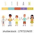 steam education banner template ...   Shutterstock .eps vector #1797219655