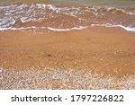 beautiful coasline at sunset of ... | Shutterstock . vector #1797226822