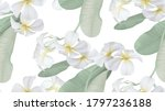 floral seamless pattern  white... | Shutterstock .eps vector #1797236188