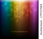 abstract rainbow background | Shutterstock .eps vector #179727065