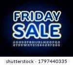 vector promotion banner friday... | Shutterstock .eps vector #1797440335