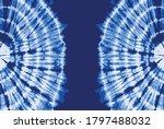 tie dye blue color background | Shutterstock .eps vector #1797488032