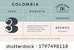 minimal label. typographic... | Shutterstock . vector #1797498118