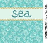 sea banner. | Shutterstock .eps vector #179763536