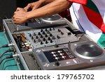 a closeup of a pair of hands... | Shutterstock . vector #179765702