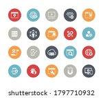 seo   digital martketing icons... | Shutterstock .eps vector #1797710932