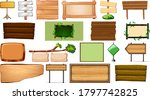 set of various type of sign... | Shutterstock .eps vector #1797742825