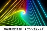 Rainbow Triangle Tunnel....