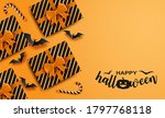 happy halloween. design with... | Shutterstock .eps vector #1797768118