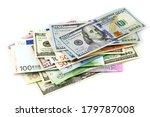 Pile Of Various Currencies...