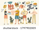 people in clothes with stains....   Shutterstock .eps vector #1797902005