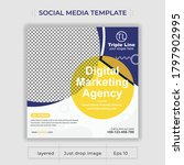digital business marketing... | Shutterstock .eps vector #1797902995
