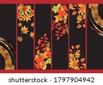 japanese maple watercolor...   Shutterstock .eps vector #1797904942