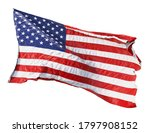 american flag waving in the... | Shutterstock . vector #1797908152