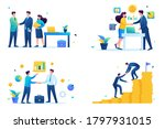 set of web design on the topic...   Shutterstock .eps vector #1797931015