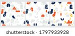 set of three abstract... | Shutterstock .eps vector #1797933928