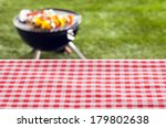 Empty Picnic Table Background...