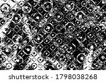 grunge background black and... | Shutterstock .eps vector #1798038268