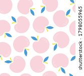 seamless repeating pattern with ... | Shutterstock .eps vector #1798055965