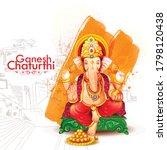 God Ganesha Illustration For...