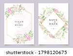 beautiful soft floral and... | Shutterstock .eps vector #1798120675