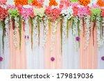 flowers wedding | Shutterstock . vector #179819036
