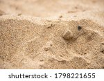 Natural Sand Texture Close Up...