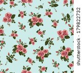 seamless floral pattern with of ... | Shutterstock .eps vector #179822732