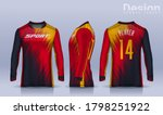 t shirt sport design template ... | Shutterstock .eps vector #1798251922