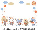 Animal Marching Band Character...